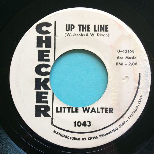 Little Walter - Up the line - Checker promo - Ex- (label stain)