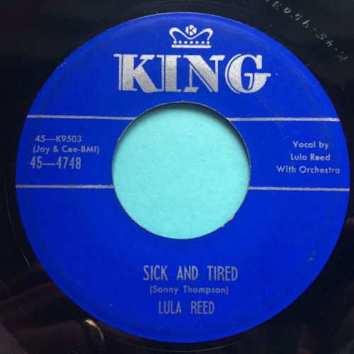 Lula Reed - Sick and tired - King - Ex