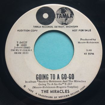 Miracles - Going to a Go-Go - Tamla promo - Ex