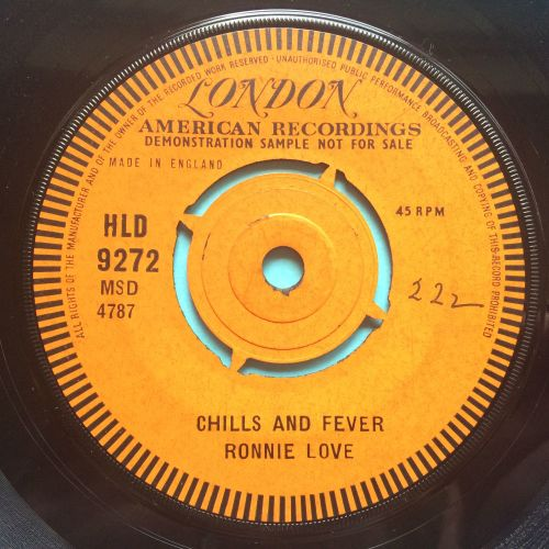 Ronnie Love - Chills and Fever - UK London demo - M- (swol)