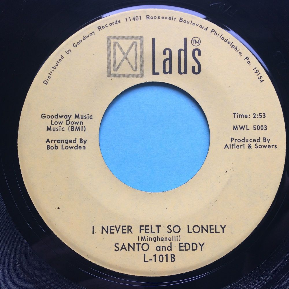 Santo and Eddy - I never felt so lonely - MW Lads - Ex