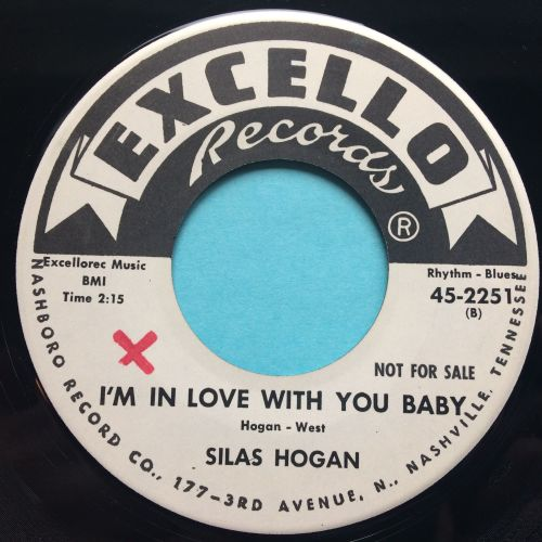 Silas Hogan - I'm in love with you baby - Excello - Ex