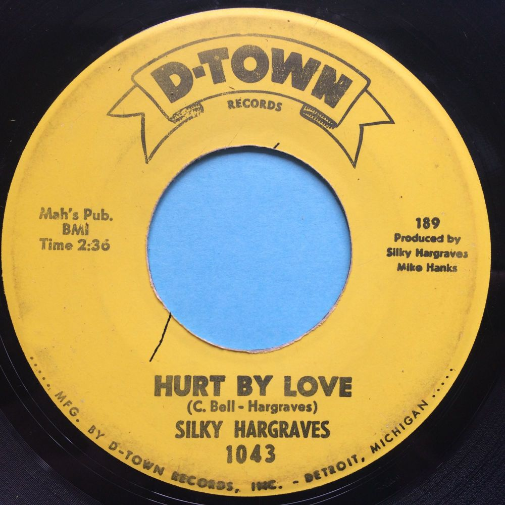 Silky Hargreaves - Hurt by love - D-Town - VG+
