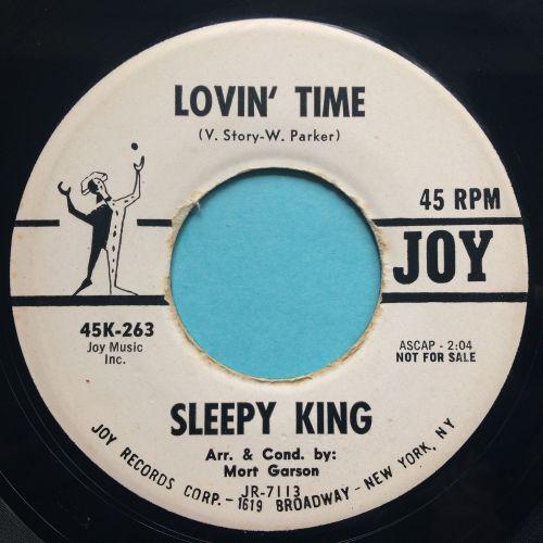 Sleepy King - Lovin' Time - Joy promo - Ex