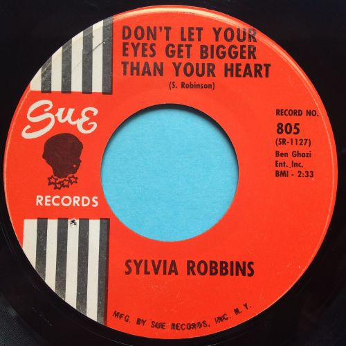 Sylvia Robbins - Don't let your eyes get bigger than your heart - Sue - Ex