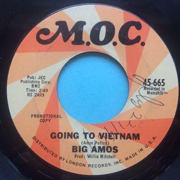Big Amos - Going to Vietnam - M.O.C. promo - Ex (wol)