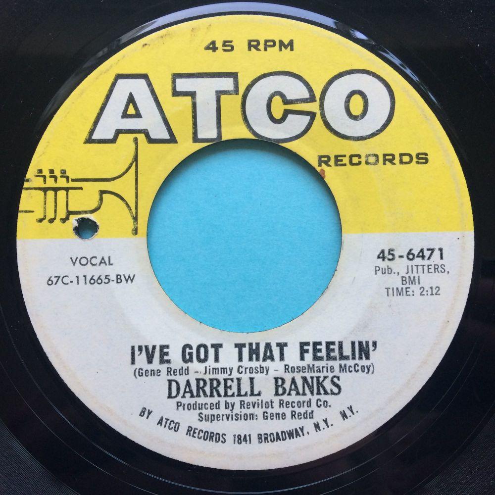 Darrell Banks - I've got that feelin' Atco - Ex-