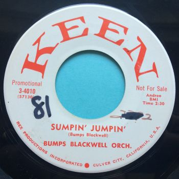 Bumps Blackwell Orchestra - Sumpin' Jumpin'  - Keen promo - Ex (wol)