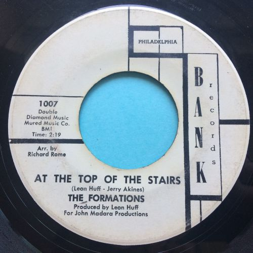 Formations - At the top of the stairs - Bank promo - VG+