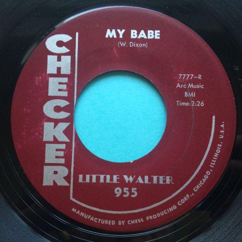 Little Walter - My babe - Checker - Ex