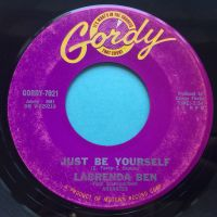 LaBrenda Ben - Just be yourself - Gordy - VG+