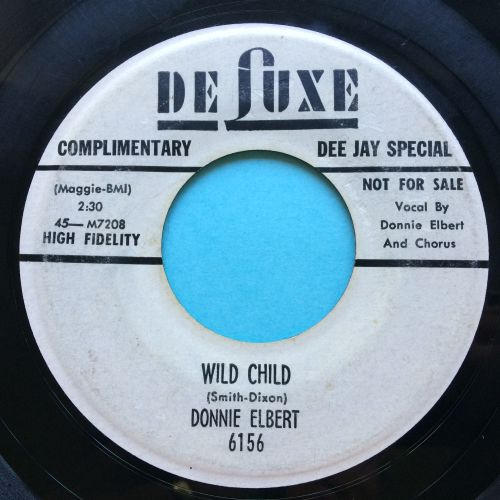 Donnie Elbert - Wild child - Deluxe promo - VG plays VG+