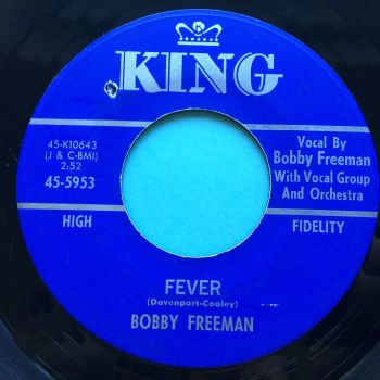 Bobby Freeman - Fever - King - Ex-