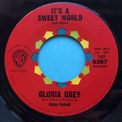 Gloria Grey - It's a sweet world - WB - Ex
