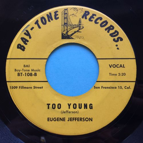 Eugene Jefferson - Too Young - Bay-Tone - Ex