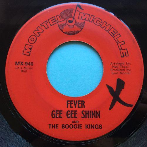 Gee Gee Shinn - Fever b/w Devil of a girl - Montel Michelle - VG+