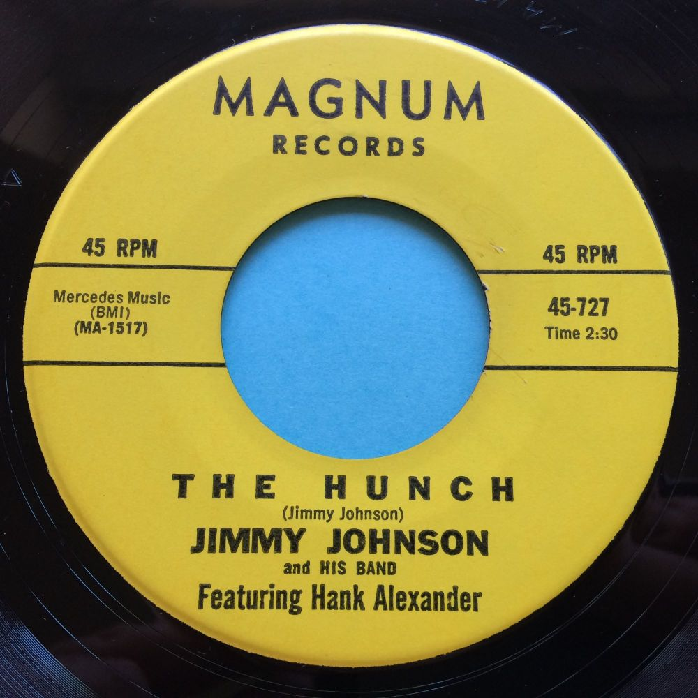 Jimmy Johnson - The Hunch - Magnum - Ex