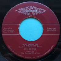 Joe Gaines - Voo Doo Lou b/w I wanna go back home - Arcadia - Ex
