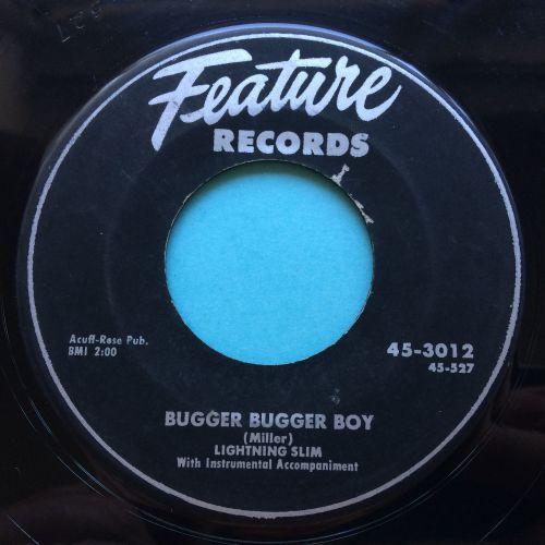 Lightning Slim - Bugger Bugger Boy - Feature - VG+