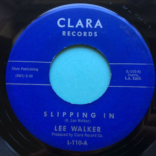 Lee Walker - Slipping In b/w Cold Sand - Clara - Ex