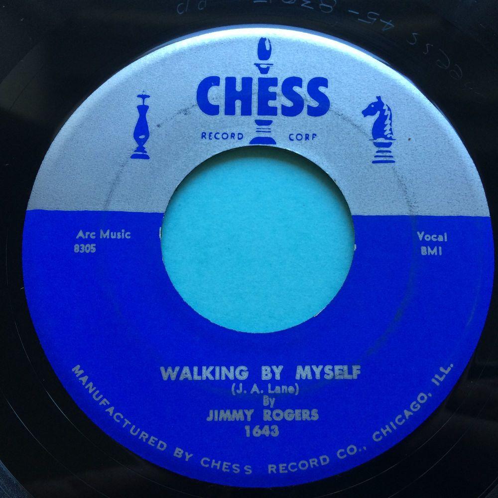 Jimmy Rogers - Walking by myself b/w If it ain't me - Chess - Ex