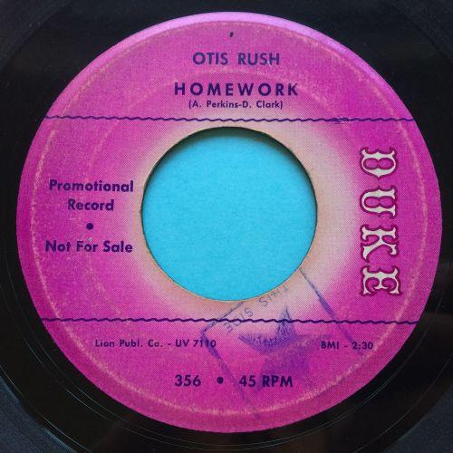 Otis Rush - Homework - Duke promo - VG+