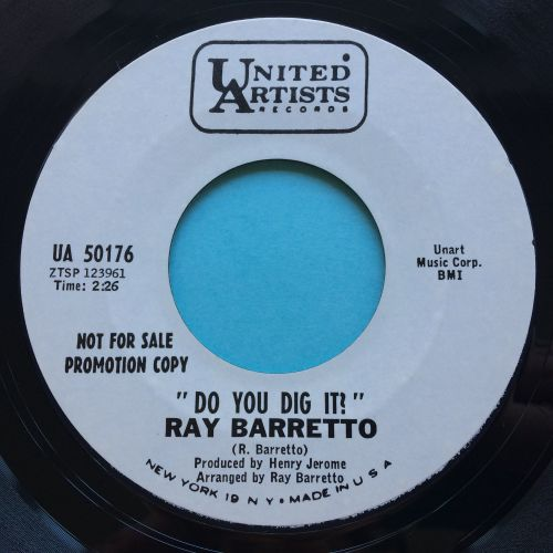 Ray Barretto - Do you dig it - United Artists promo - Ex