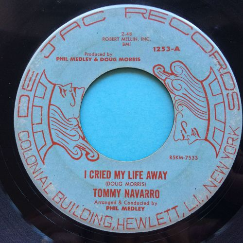 Tommy Navarro - I cried my life away - De Jac - looks VG plays VG+