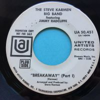 The Steve Karmen Big Band featuring Jimmy Radcliffe - Breakaway - UA promo - Ex-