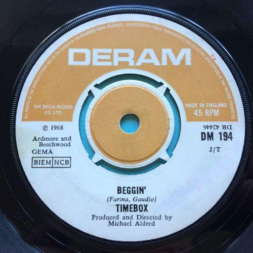 Timebox - Beggin' - UK Deram - VG+