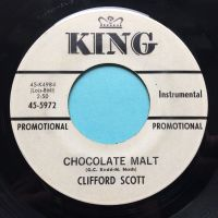 Clifford Scott - Chocolate Malt - King promo - Ex-