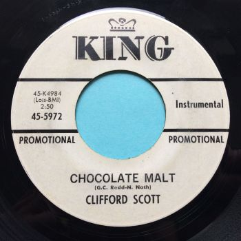 Clifford Scott - Chocolate Malt - King promo - Ex-
