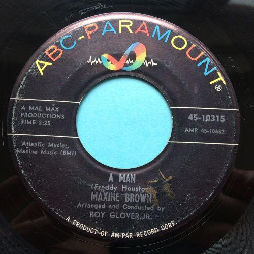 Maxine Brown - A man - ABC - VG+