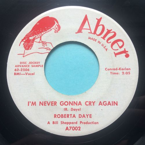 Roberta Daye - I'm never gonna cry again - Abner promo - Ex