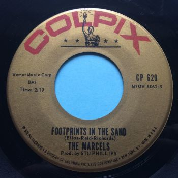 Marcels - Footprints in the sand b/w Twistin' fever - Colpix - VG+
