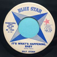 Billy Storm - It's what's happening, baby - Blue Star - VG+