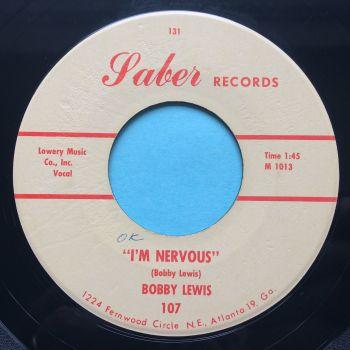 Bobby Lewis - I'm nervous - Saber - Ex