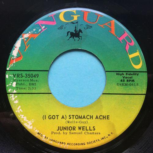 Junior Wells - (I got a) Stomache Ache b/w Shake it baby - Vanguard - VG+