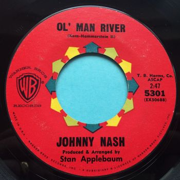 Johnny Nash - Ol' man river - WB - Ex