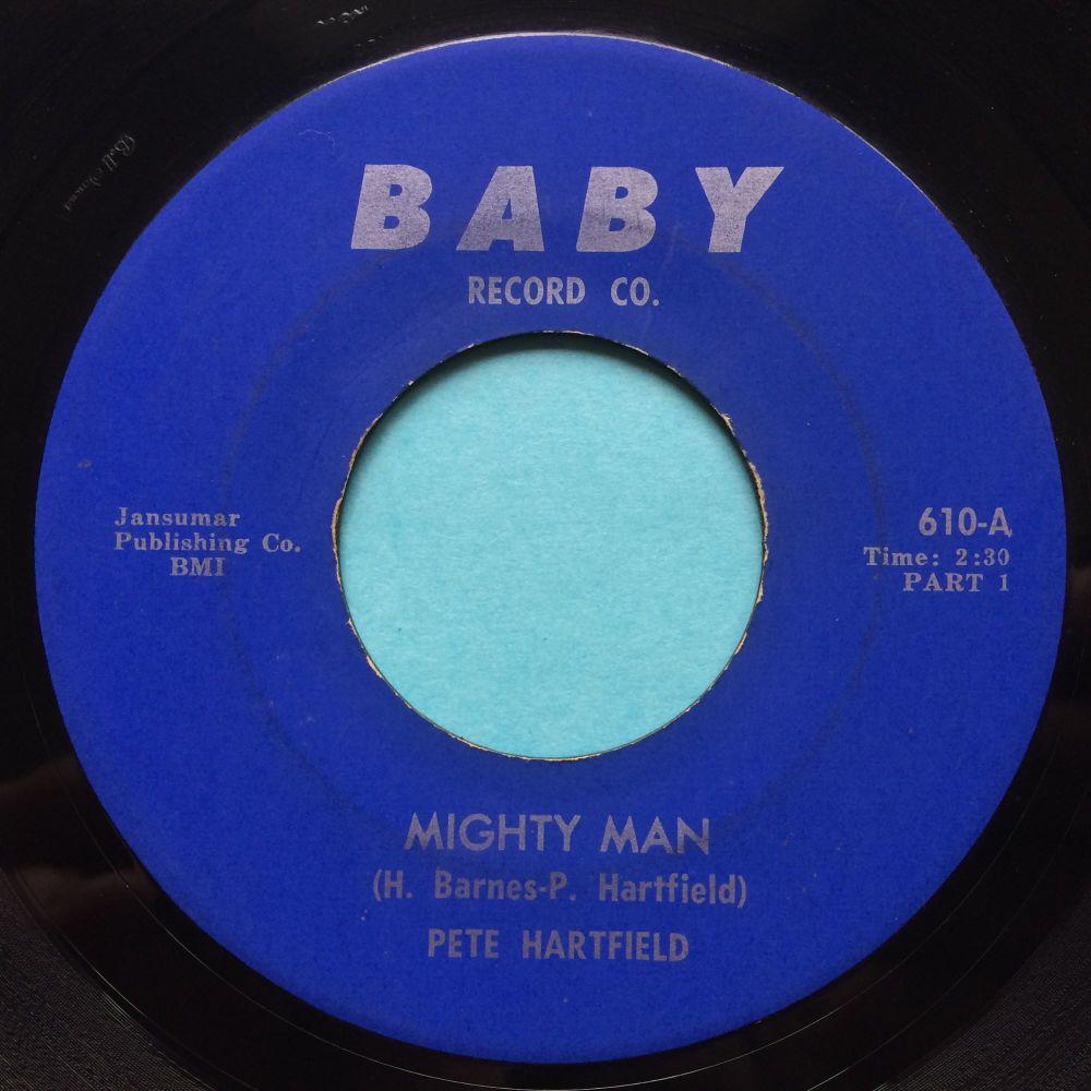 Pete Hartfield - Mighty Man - Baby - VG+