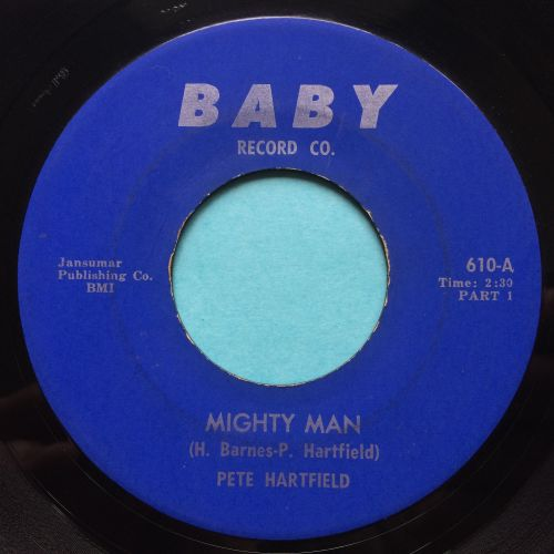 Pete Hartfield - Mighty Man - Baby - VG+