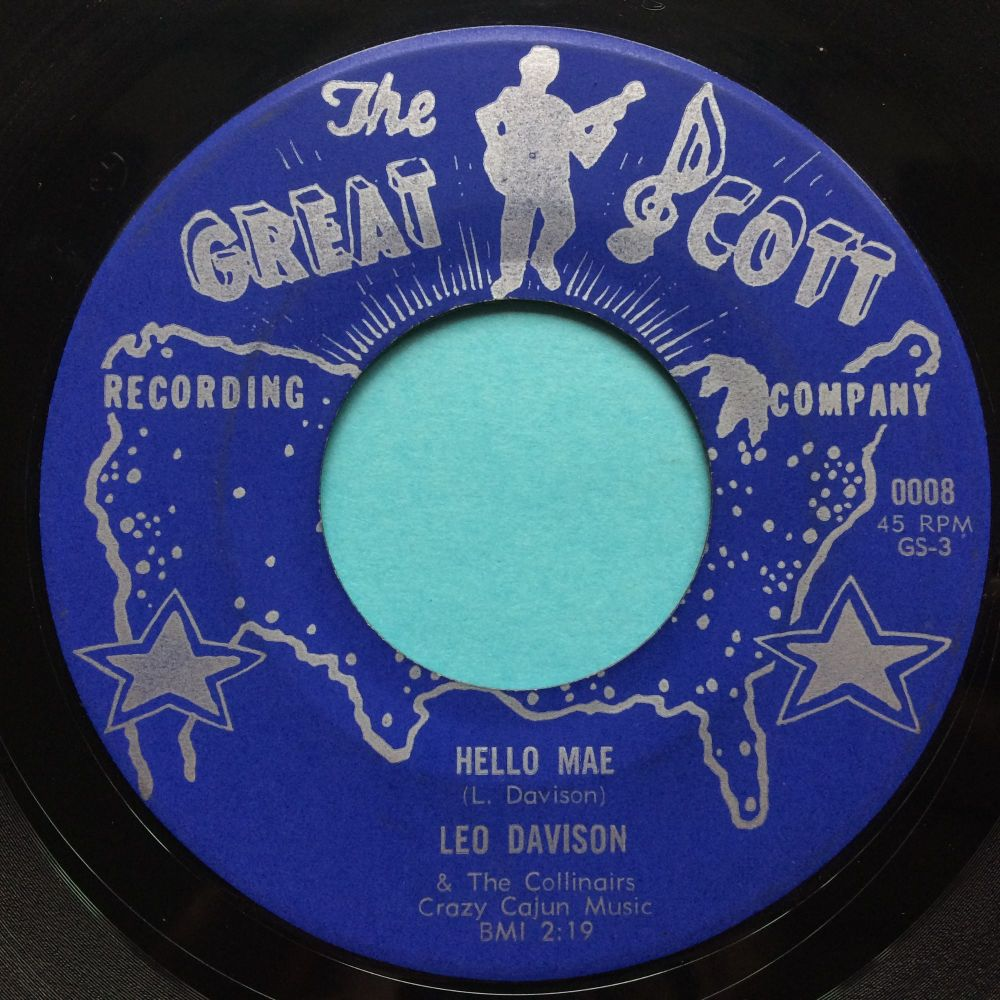 Leo Davison - Hello Mae - Great Scott - Ex-