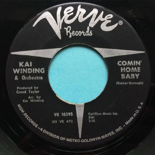 Kai Winding - Comin' home baby - Verve - Ex