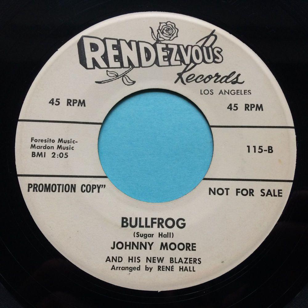 Johnny Moore - Bullfrog - Rendezvous promo - Ex-