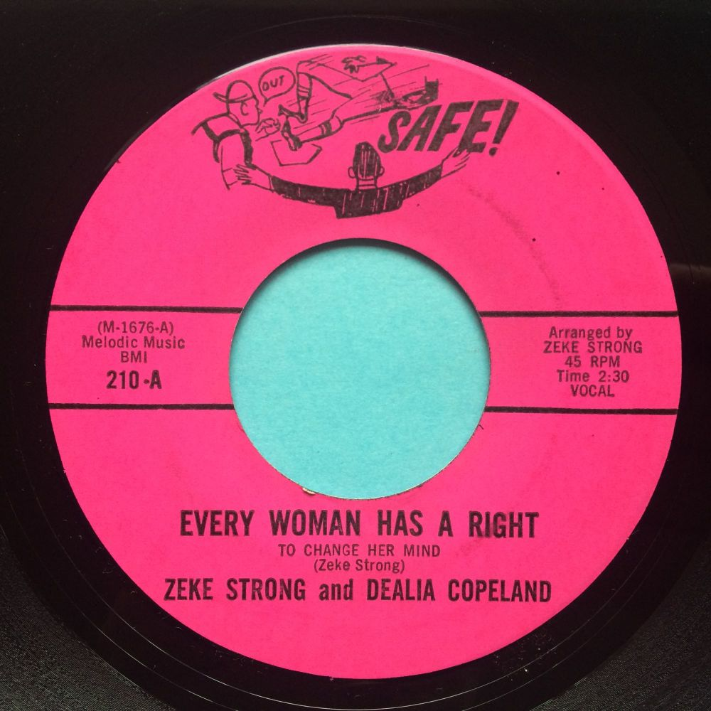 Zeke Strong and Dealia Copeland - Every woman has a right - Safe - M-