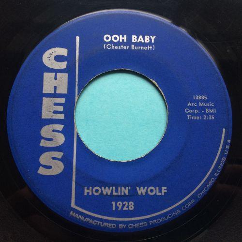 Howlin' Wolf - Ooh Baby - Chess - VG+