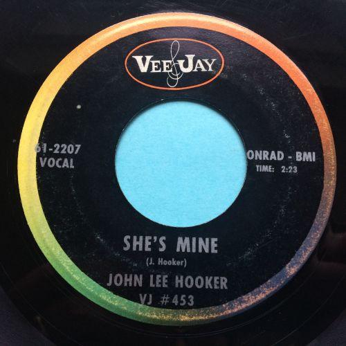 John Lee Hooker - She's Mine - Vee Jay - VG+