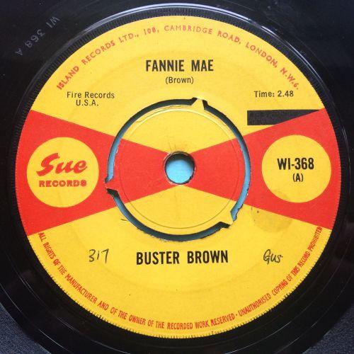 Buster Brown - Fannie Mae b/w Lost in a dream - U.K. Sue - Ex