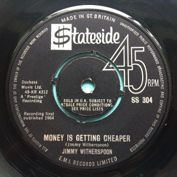 Jimmy Witherspoon - Money is getting cheaper - U.K. Stateside - Ex