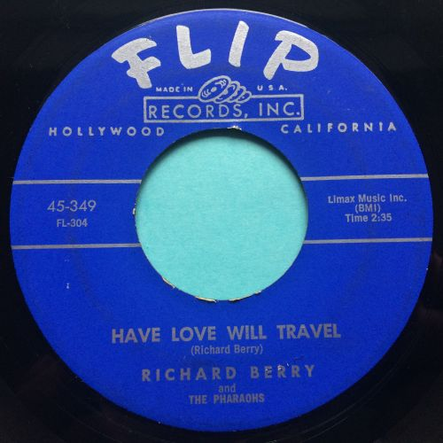 Richard Berry - Have love will travel - Flip - Ex-
